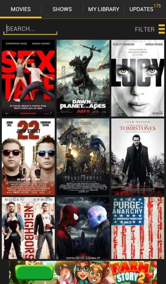 best free android downloading movies