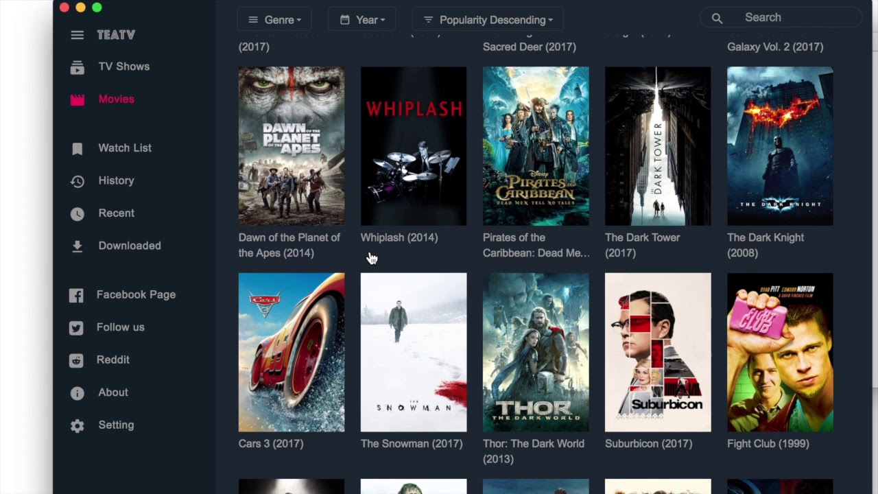 The best free movies and tv shows app for Mac