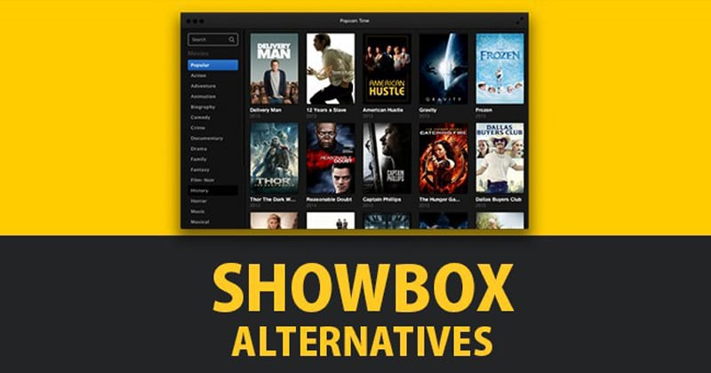 Best Showbox Alternatives 2019: 5 Apps like Showbox for Android