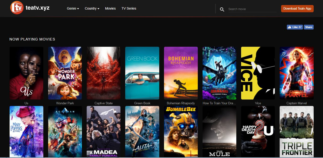 free movie watching websites without downloading